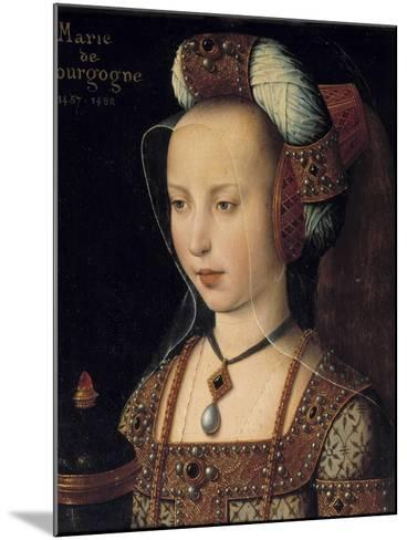 Portrait of the Duchess Mary of Burgundy--Mounted Giclee Print