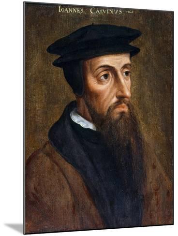 Portrait of John Calvin--Mounted Giclee Print