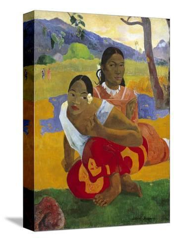 When Will You Marry? by Paul Gauguin--Stretched Canvas Print