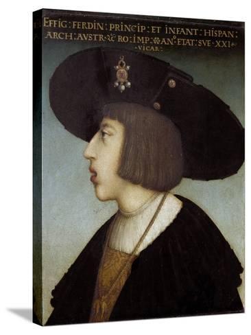 Portrait of Ferdinand I by Hans Maler Zu Schwaz--Stretched Canvas Print