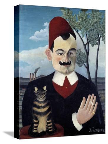 Portrait of Pierre Loti by Le Douanier Rousseau--Stretched Canvas Print