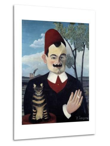 Portrait of Pierre Loti by Le Douanier Rousseau--Metal Print