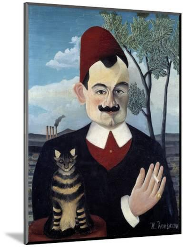Portrait of Pierre Loti by Le Douanier Rousseau--Mounted Giclee Print