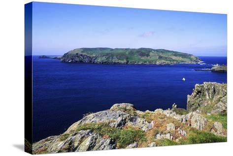 Calf of Man, Uninhabited Island, Nature Reserve-Neil Holmes-Stretched Canvas Print