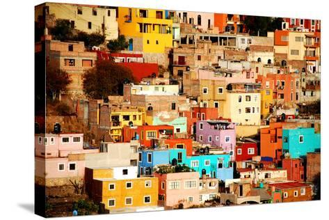 Colors on Hill-Nan Zhong-Stretched Canvas Print