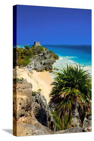 Riviera Maya in Yucatan-Visions Of Our Land-Stretched Canvas Print