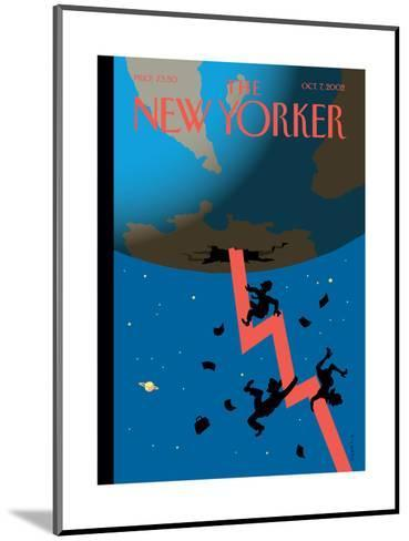 The New Yorker Cover - October 7, 2002-Christoph Niemann-Mounted Premium Giclee Print