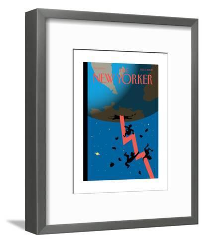 The New Yorker Cover - October 7, 2002-Christoph Niemann-Framed Art Print