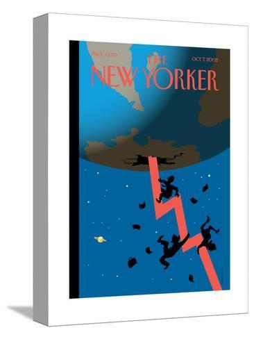 The New Yorker Cover - October 7, 2002-Christoph Niemann-Stretched Canvas Print