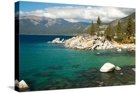 Lake Tahoe Landscape-Megan Ahrens-Stretched Canvas Print