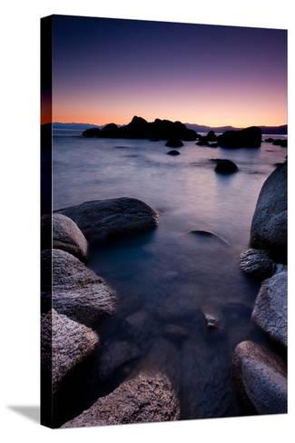 Good Night, Tahoe-photograph by Quan Yuan-Stretched Canvas Print