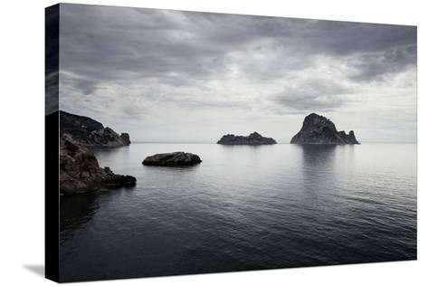 Es Vedranell and Es Vedra Islands-Jorg Greuel-Stretched Canvas Print