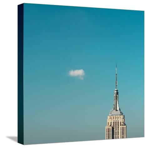 Usa, New York City, Empire State Building Pinnacle-Tetra Images-Stretched Canvas Print