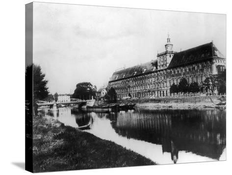 Wroclaw University-Hulton Archive-Stretched Canvas Print