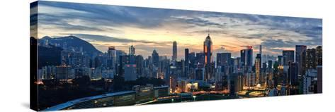 Happy Valley at Sunset-Lowell Ling-Stretched Canvas Print