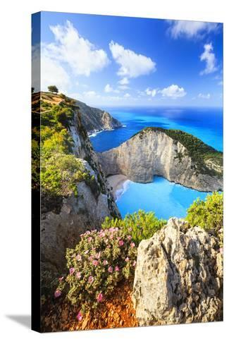 Navagio Bay-Evgeni Dinev Photography-Stretched Canvas Print