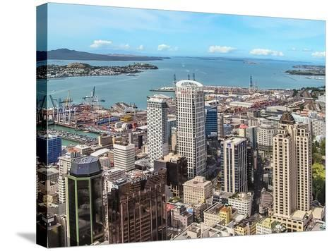 Auckland, New Zealand-Steve Oldham-Stretched Canvas Print