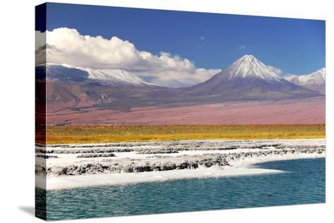 Volcan Licancabur-Leonid Plotkin-Stretched Canvas Print