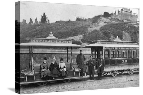 Cable Street Car-Taber Photo San Francisco-Stretched Canvas Print