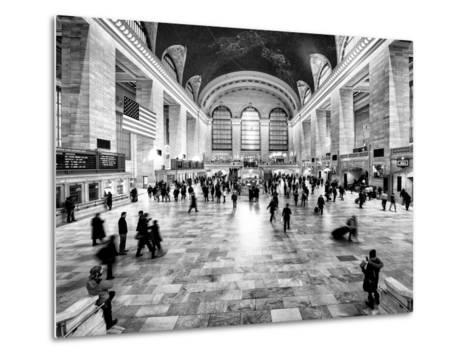 Grand Central Terminal at 42nd Street and Park Avenue in Midtown Manhattan in New York-Philippe Hugonnard-Metal Print