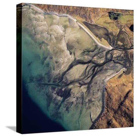 Aerial Image of Scotland, UK: Barrisdale Bay-Adrian Warren-Stretched Canvas Print