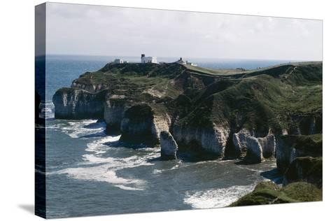 Yorkshire Flamborough Head--Stretched Canvas Print