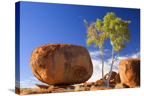 Devils Marbles--Stretched Canvas Print