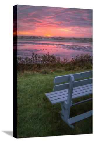 Beautiful Morning View, Mainer Coast-Vincent James-Stretched Canvas Print