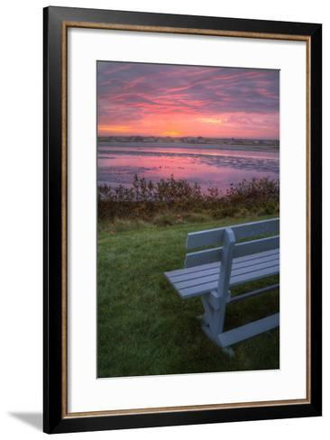 Beautiful Morning View, Mainer Coast-Vincent James-Framed Art Print