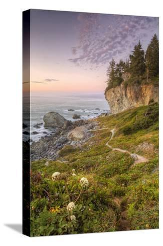Sunset at Patrick's Point, Northern California-Vincent James-Stretched Canvas Print