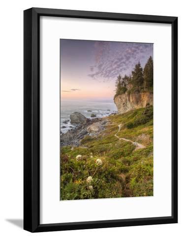 Sunset at Patrick's Point, Northern California-Vincent James-Framed Art Print