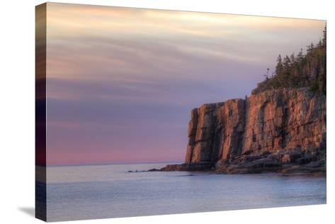 Morning Scene at Otter Point, Acadia National Park-Vincent James-Stretched Canvas Print