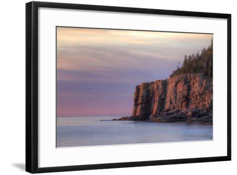 Morning Scene at Otter Point, Acadia National Park-Vincent James-Framed Art Print