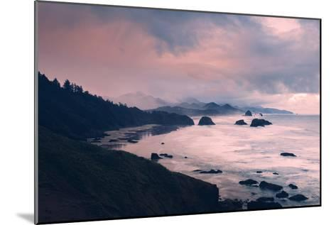 Milky and Stormy Morning at Cannon Beach, Oregon Coast-Vincent James-Mounted Photographic Print