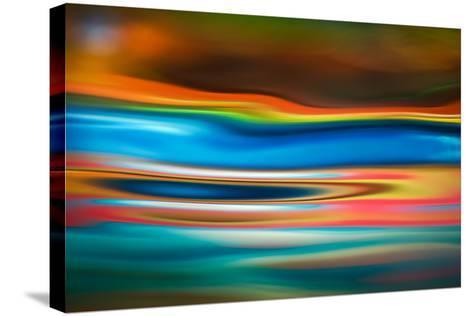 A River Runs Through It-Ursula Abresch-Stretched Canvas Print