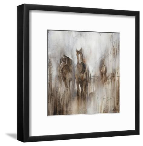 Grazing I-Rikki Drotar-Framed Art Print