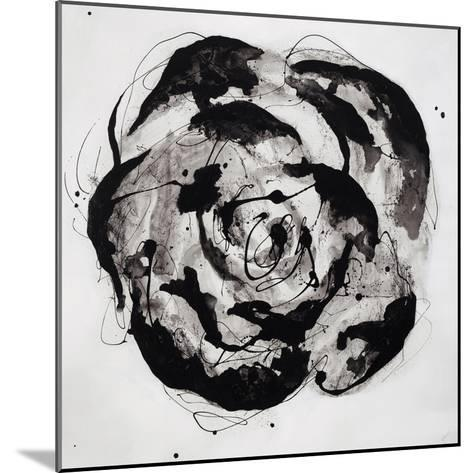 Black and White Bloom II-Sydney Edmunds-Mounted Giclee Print