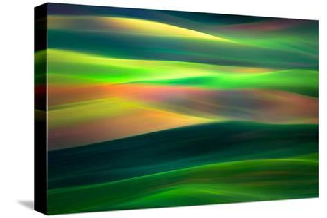 Waves 1-Ursula Abresch-Stretched Canvas Print