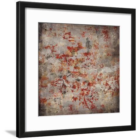 Patterned Wall-Alexys Henry-Framed Art Print
