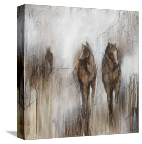Grazing II-Rikki Drotar-Stretched Canvas Print