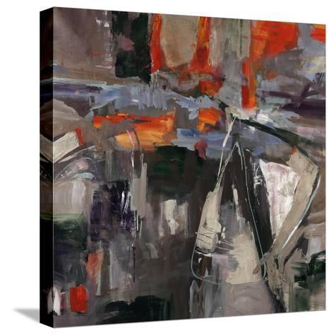 New Blue Scarf-Jodi Maas-Stretched Canvas Print