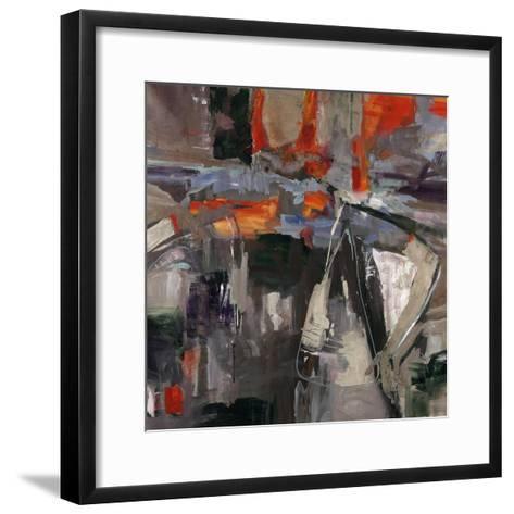 New Blue Scarf-Jodi Maas-Framed Art Print