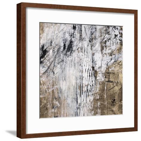 Gold and Chalk-Jodi Maas-Framed Art Print