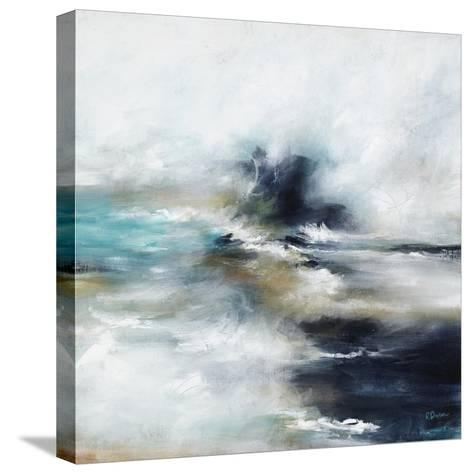 High Tide Wave I-Rikki Drotar-Stretched Canvas Print