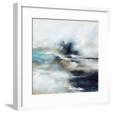 High Tide Wave I-Rikki Drotar-Framed Art Print