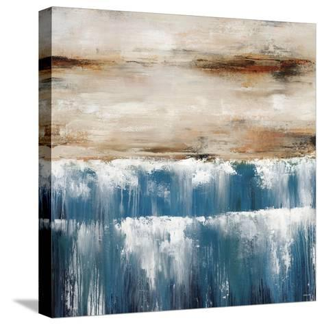 Waterline by the Coast IV-Sydney Edmunds-Stretched Canvas Print