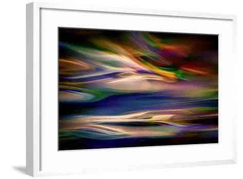Blue Lagoon in the Evening-Ursula Abresch-Framed Art Print