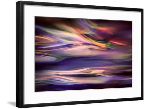 Blue Lagoon at Dawn-Ursula Abresch-Framed Art Print