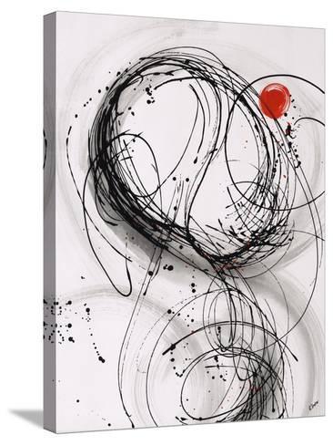 Timing II-Rikki Drotar-Stretched Canvas Print