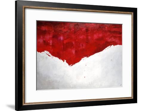 Interplay Rouge-Sydney Edmunds-Framed Art Print